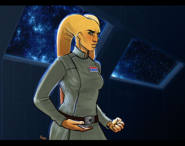 """""""Landing"""" a stolen shuttle on an Imperial engineering outpost in deep space, Rynn wound up having to pose as Imperial Rear Admiral Ra'al, the only alien woman of the rank our party could dig up in the databases. It was too nerve-wracking an..."""