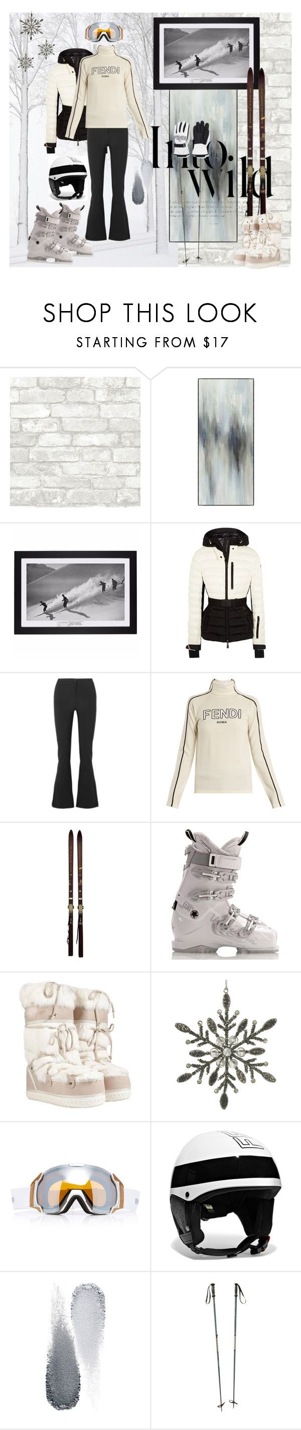 """The best work-out"" by wave-babe ❤ liked on Polyvore featuring Anja, Moncler Grenoble, Fusalp, Fendi, Rossignol, Soma, Salvatore Ferragamo, Parlane, Bogner and Clé de Peau Beauté"
