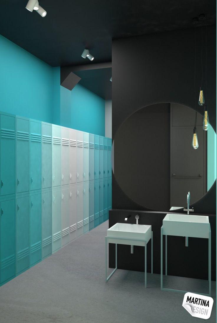 dance studio - men cloak room