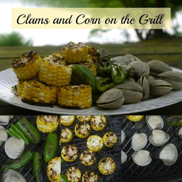 Clams and Corn on the Grill @learningandyearning / http://learningandyearning.com/clams-and-corn-on-the-grill