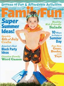 Family Fun Magazine Subscription 1 year for $3.35 at BestDealMagazines.com!