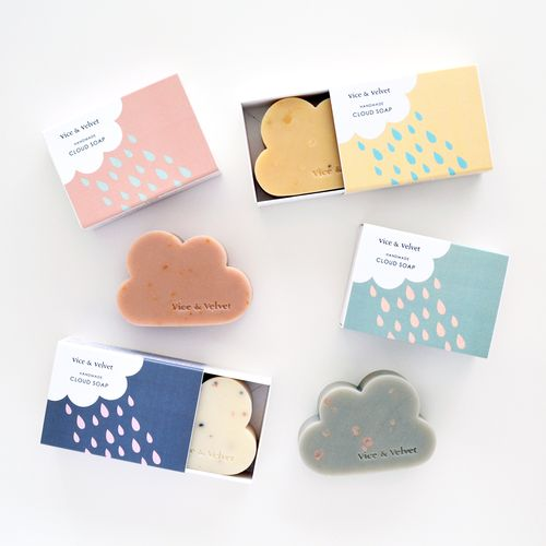 Cloud soaps // Vice & Velvet