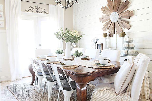 Farmhouse Dining Room Wall Decor Ideas: 25+ Best Ideas About White Shiplap On Pinterest