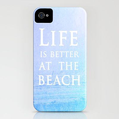 Life|Is|Better|At|The|Beach iPhone & iPod Case