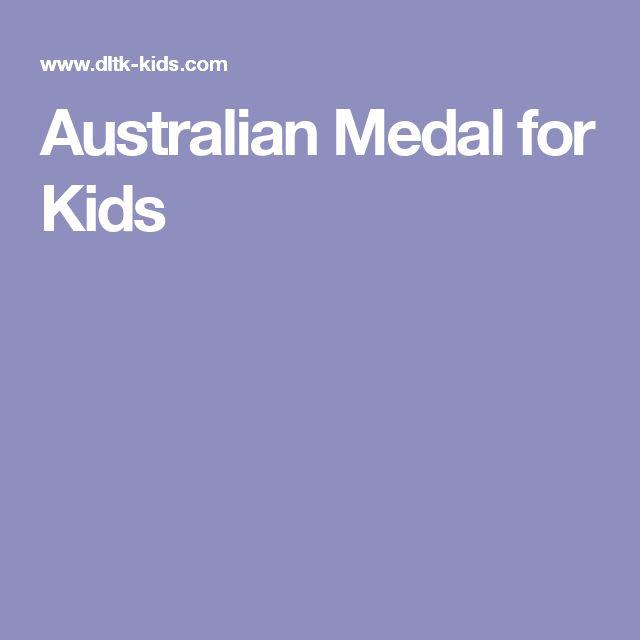 Australian Medal for Kids
