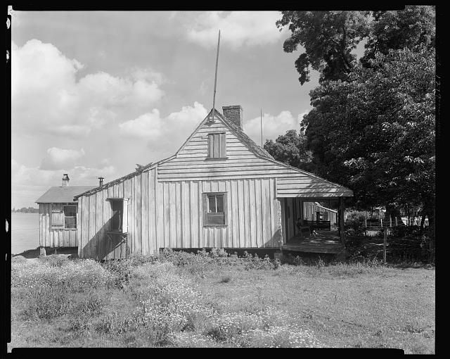 Cottage, old jail, Mix, False River, Point Coupee Parish, Louisiana