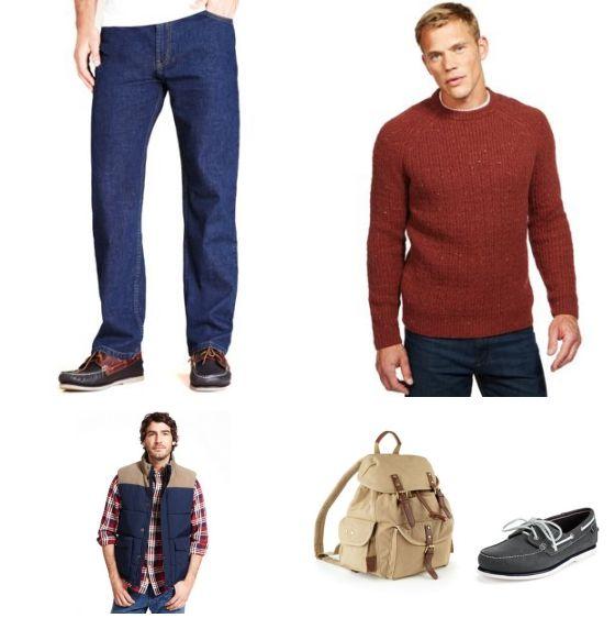 Marks & Spencer Look outfit - Vrijetijdskleding - Clooy.nl OUTFIT TOTAALPRIJS: € 262,75 Deze look van Marks & Spencer is lekker casual en helemaal herfst proof! Door het gerbuik van warme kleuren al rood en donkerblauw krijgt deze outfit een mooie, herfstachtige look.