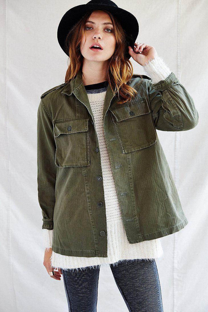 Urban Renewal Surplus Shirt Jacket - Urban Outfitters