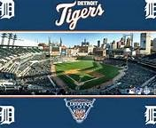 The Detroit Tigers are a Major League Baseball team located in Detroit, Michigan. One of the American League's eight charter franchises, the club was founded in Detroit in 1894 as part of the Western League. They are the oldest continuous one-name, one-city franchise in the American League. The Tigers have won four World Series championships (1935, 1945, 1968, and 1984) and have won the American League pennant 11 times (1907, 1908, 1909, 1934, 1935, 1940, 1945, 1968, 1984, 2006 and 2012).