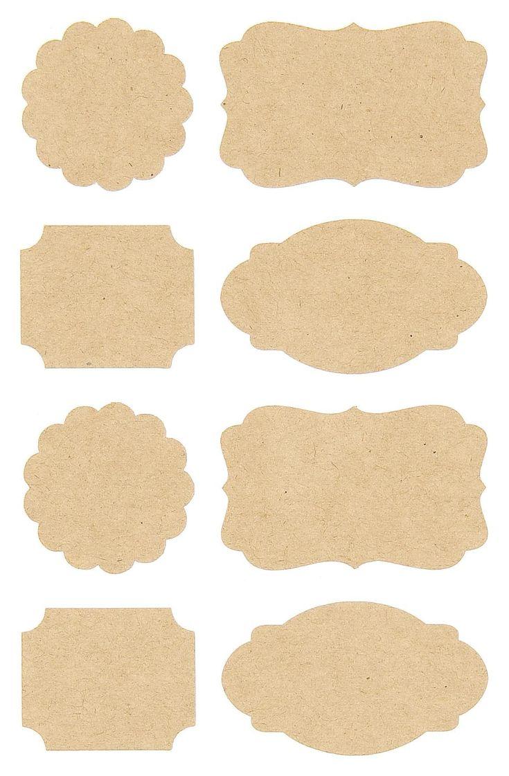 """Sticker """"Etiketten"""" - für Selbstgemachtes - Sticker beschriften"""