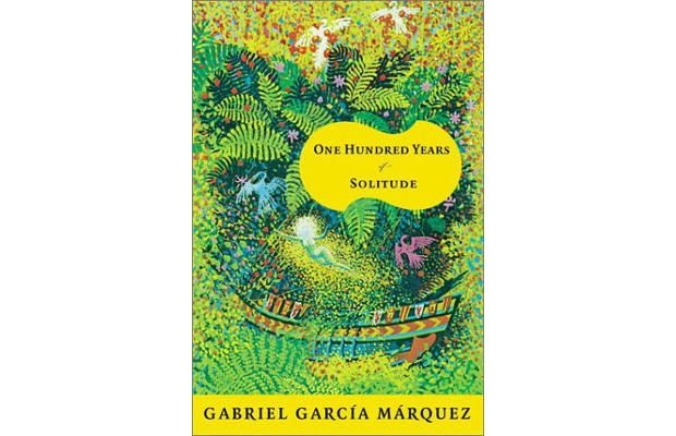 One Hundred Years of Solitude - Gabriel Garcia Marquez--This is the first novel that I fell in love with. I read it one summer in high school and highlighted my favorite passages. By the end of the book, it was almost completely filled with little blue lines and my hand-written exclamations of joy.