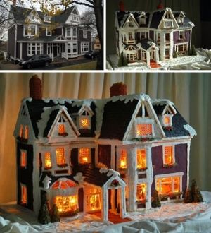 gingerbread house by macattack