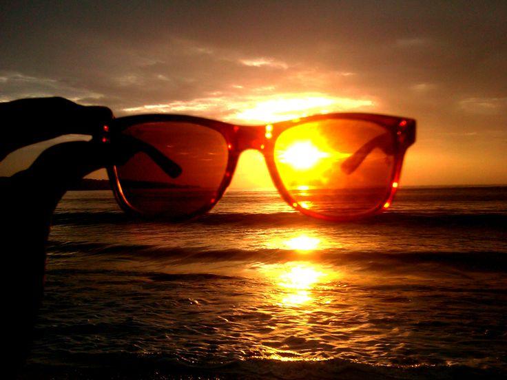 sun wearing sun-glasses