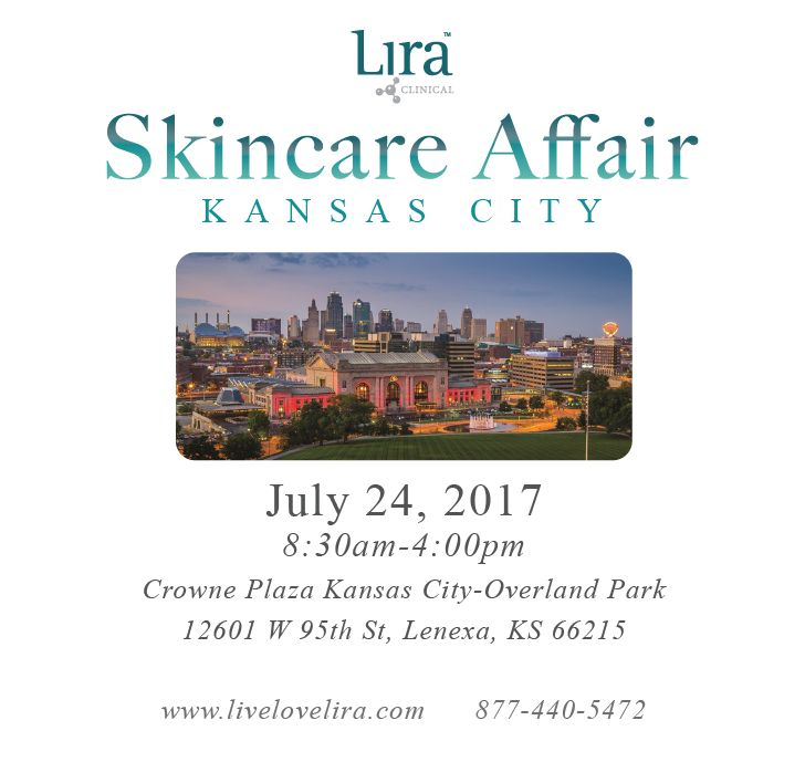 We are less than 3 weeks away from the Kansas City Skincare Affair and will now be offering continuing education units! Make sure to purchase your tickets today before this event sells out! #skincareaffair #kansascity #kansasskincare #missouriskincare #esthetician #livelovelira #liraclinical