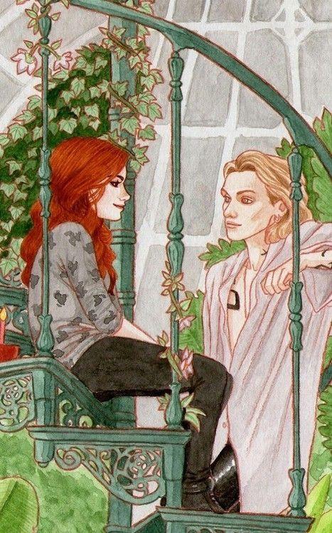 Clary and Jace fan art