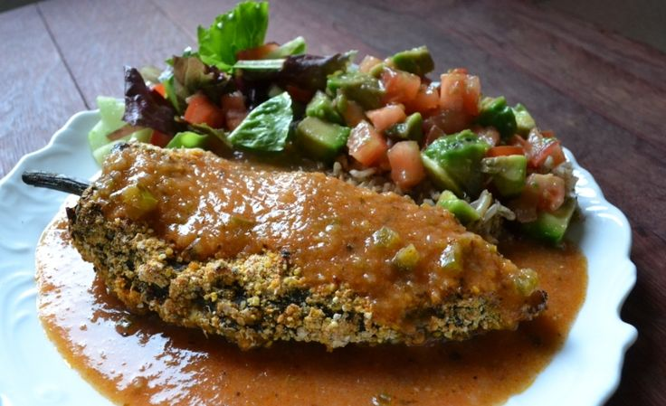 Baked Chile Relleno Recipes   Baked Chili Rellenos   it's a Greyt Vegan Life