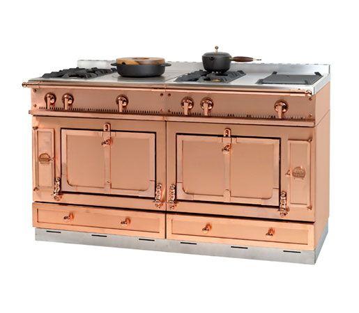 copper stove la cornue copper design pictured here