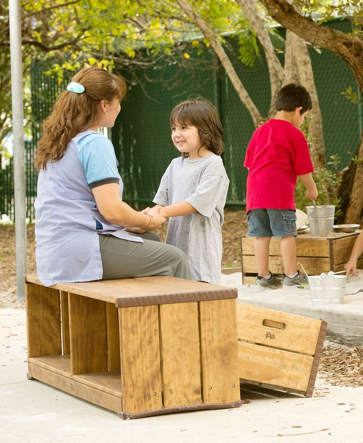 92 best outdoor learning images on pinterest outdoor for Kindergarten playground design
