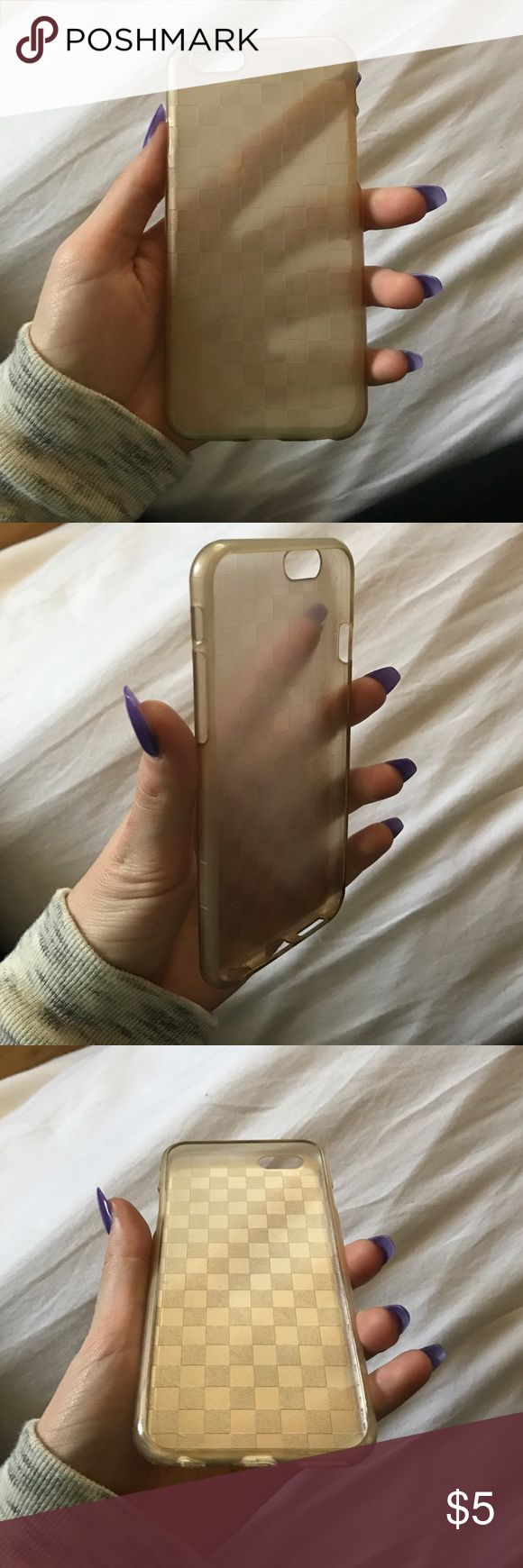 iPhone 6 case iPhone 6 jelly case bronze/gold type color Other