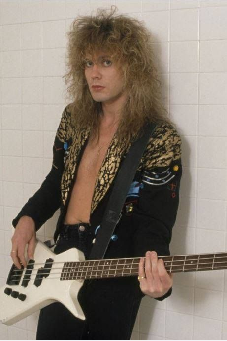 Rick savage, bassist of Def Leppard