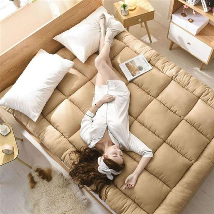 JY&WIN Thicken Quilted Tatami Futon Mat,Anti