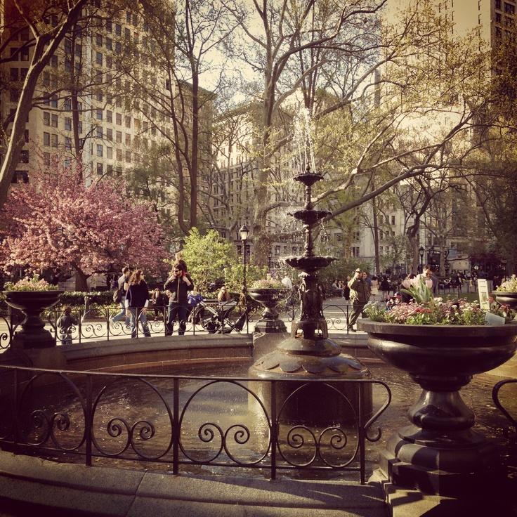 NYC. Manhattan. Madison Square Park