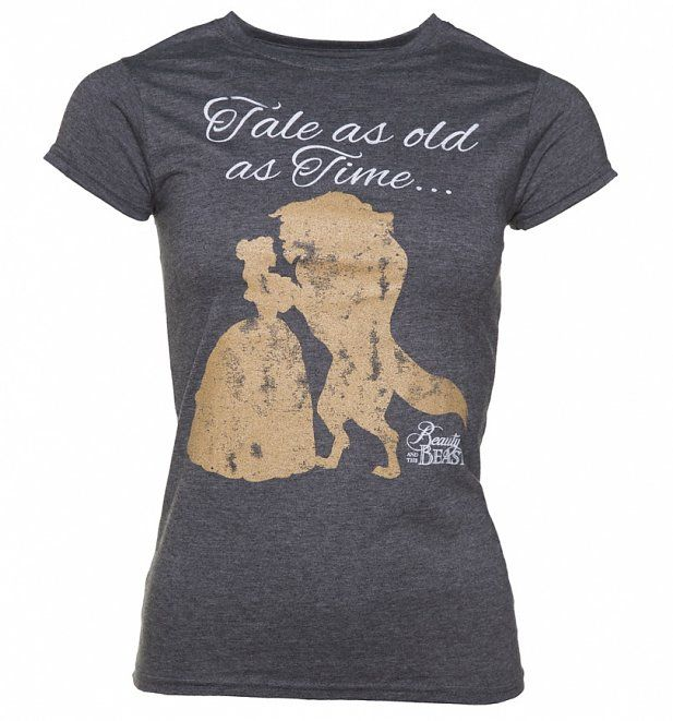 Disney Beauty and the Beast 'Tale as Old as Time' ladies' t-shirt