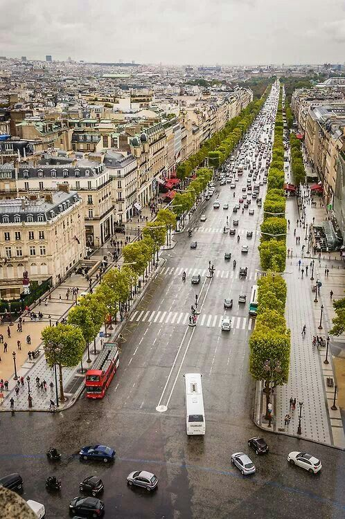 The Champs Elysees, Paris, France