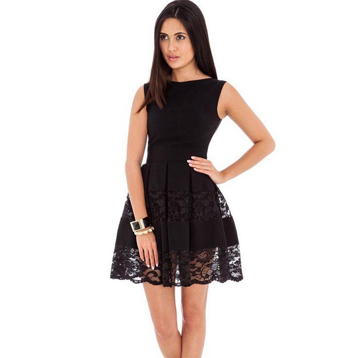 Aliexpress.com: Comprar Rb80049 hermoso cordón de las mujeres vestidos de verano 2016 diseño especial para mujer baratos vestidos o cuello sin mangas sexy dress 2016 de vestido exótico fiable proveedores en Ohyeah lingerie Co., Ltd.