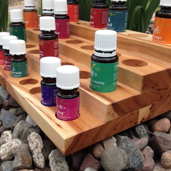 Essential Oil Holder - Holds 35 bottles - 5ml and 15ml size