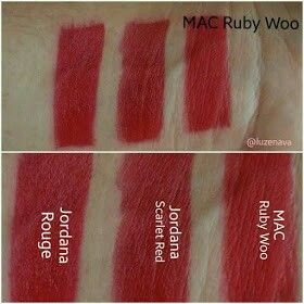 MAC Ruby Woo Dupes