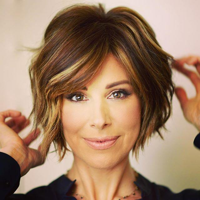 Dominique Sachse Schonheit Info Cool Short Hairstyles Short Hair Styles Wavy Hairstyles Tutorial