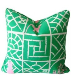 Looking Glass Cushion by Ivy & Piper