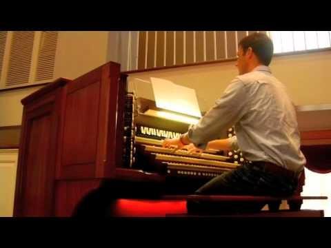 "John Rutter, ""Toccata in Seven"" - Patrick A. Scott, organ"