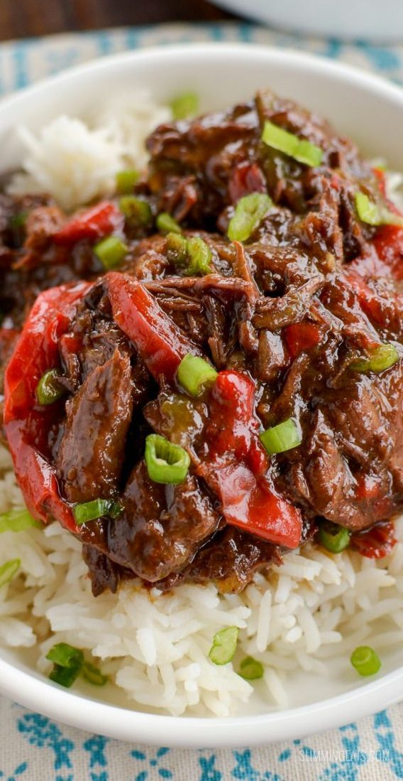 Slow Cooker Spicy Beef Recipe Magic Skillet Recipe Spicy Asian Beef Asian Beef Beef Recipes
