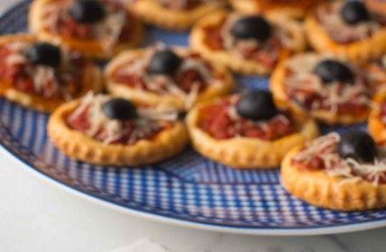 Mini pizza feuilletée à la marocaine