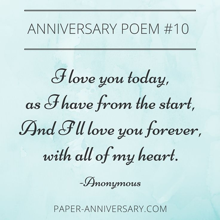 Best 25 Anniversary Quotes For Wife Ideas On Pinterest: 25+ Best Ideas About Anniversary Poems For Him On