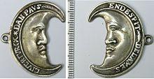 "Geuzen medals tooled around 1570 with the slogan ""Rather Turkish than Papist"""