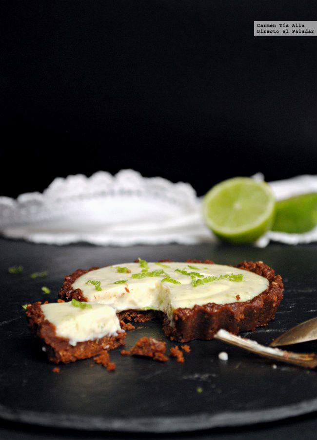 Tartaletas de lima y queso crema. Receta sin horno   Directo Al Paladar   Bloglovin'