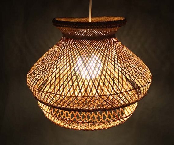 how to make bamboo lamp