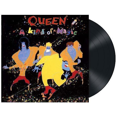 """L'album dei #Queen intitolato """"A kind of magic"""" rimasterizzato e ripubblicato su vinile nero 180 gr."""