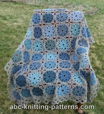 Flower Arbor Throw