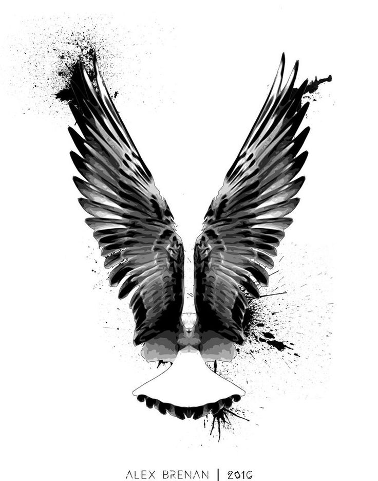 Falcon Tattoo Commission by IAmNoBro.deviantart.com on @DeviantArt
