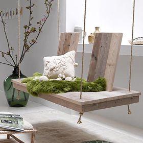 un mueble original de madera reciclada  www.almacen5.es