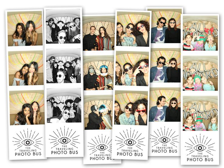 Best Photo Booth Strips in the Biz. photobooth  photo booth bus