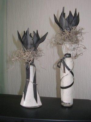Voorbeeldkaart - tulpen in fles - Categorie: HomeDecoratie - Hobbyjournaal uw hobby website