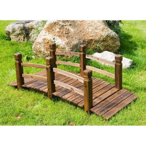 Mostek drewniany na stawek - BioPeak