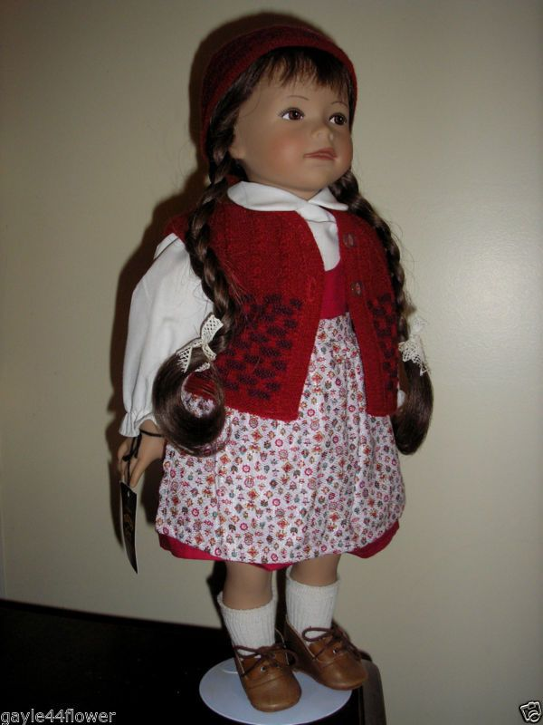 Vintage Heidi Ott Doll~K35.87~Quinta~46cm~Original condition~Box & Certificate