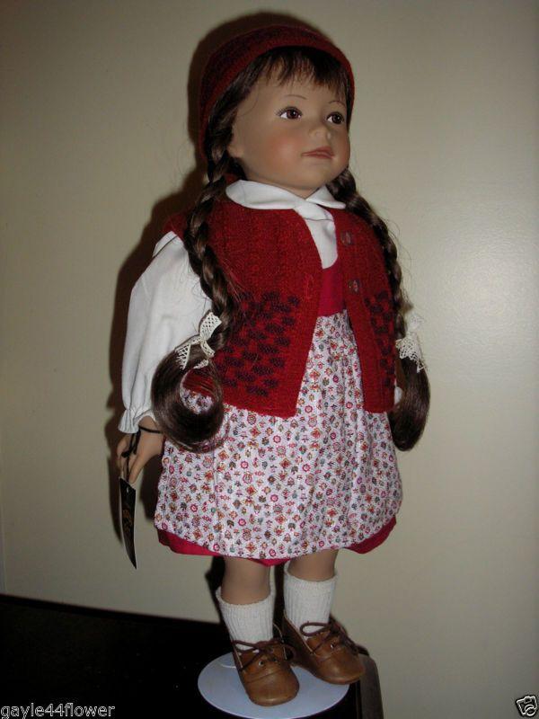 Vintage Heidi Ott Doll~K35.87~Quinta~46cm~Original condition~Box & Certificate