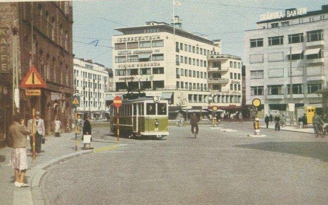 Malmö förr: 14 foton från mitten av 1900 talet